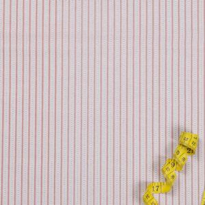 Streifen und Punkte – LACHSFARBEN 100% Baumwolle