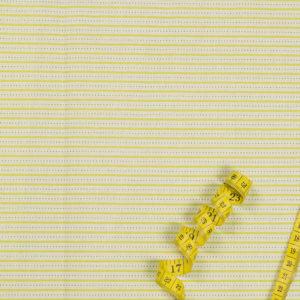 Streifen und Punkte – GRÜN 100% Baumwolle