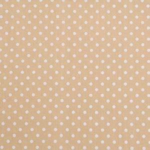 Punkte (5 mm) – CREME 100% Baumwolle