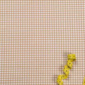 Karos (3 mm) – BEIGE 100% Baumwolle