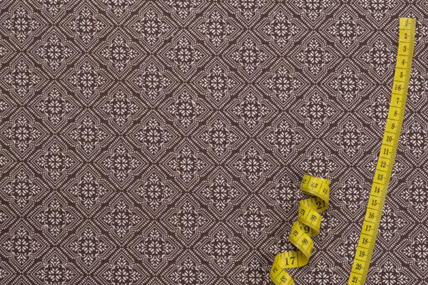 Mosaik 6. - BRAUN 100% Baumwolle