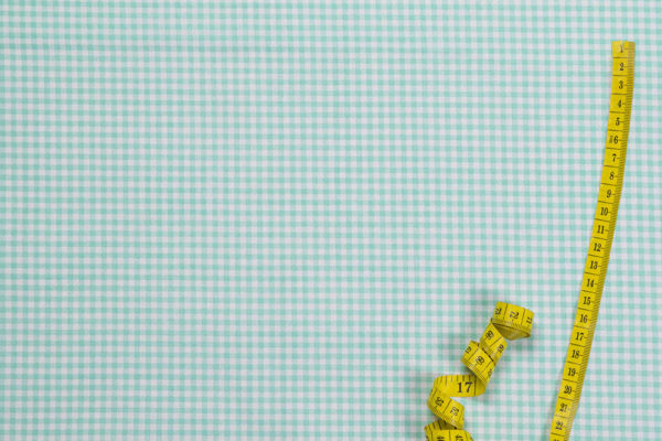 Karos (3 mm) – TÜRKISGRÜN 100% Baumwolle