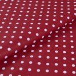 Punkte (5 mm) - BURGUNDERROT