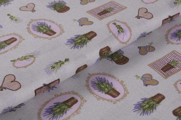 Lavendelkörbe - GRAU