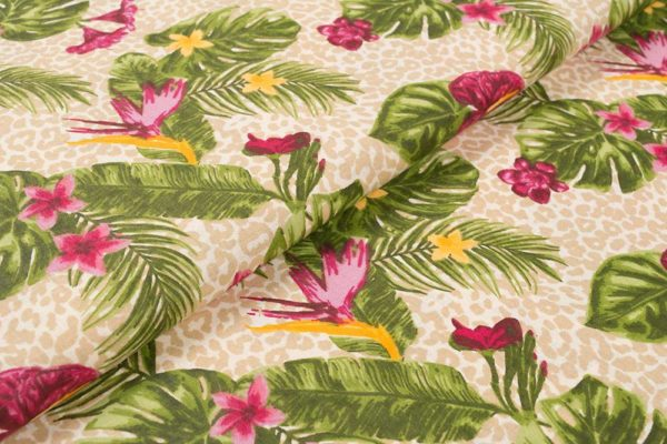 Tropische Blumen - ROSA