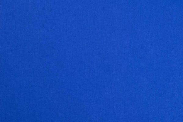 Königsblau 100% Baumwolle - unifarben