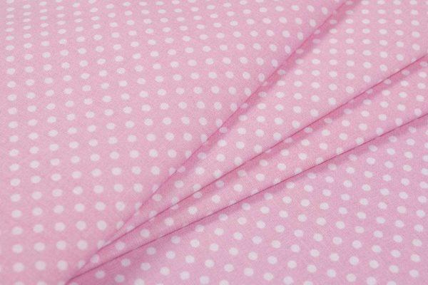 Gepunktet (2 mm) – ROSA 100% baumwolle - gemustert