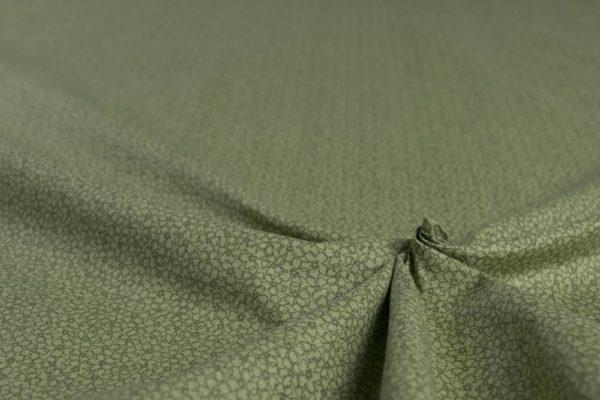 Mosaik 4. - GRÜN 100% baumwolle - gemustert