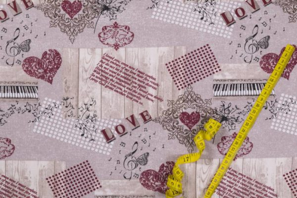 Romantik 100% baumwolle - gemustert