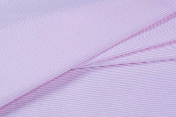 Streifen (1 mm) - BABYROSA 100% baumwolle - gemustert