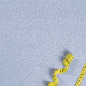 Kleine Blätter - BLAU 100% baumwolle - gemustert