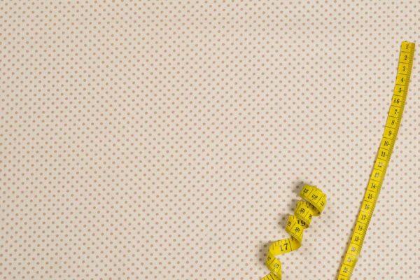 Bunte Punkte (2 mm) - ECRU-BEIGE 100% baumwolle - gemustert