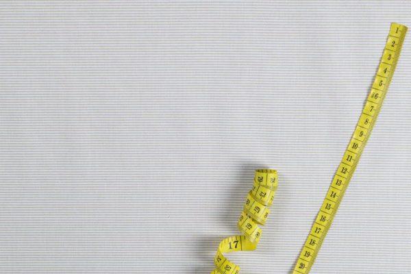 Streifen (1 mm) - BEIGE 100% baumwolle - gemustert