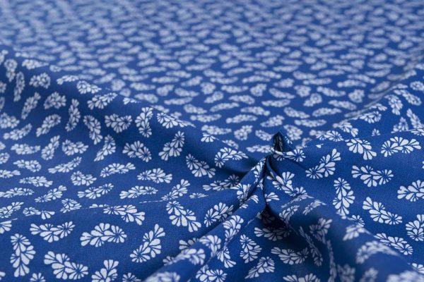Traumwelt - Blaudruck 100% baumwolle - gemustert