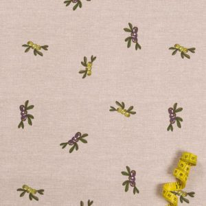 Oliven 100% baumwolle - gemustert