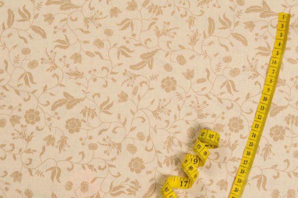 Traumblumen - GRUNDMUSTER 100% baumwolle - gemustert