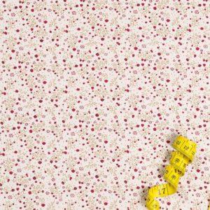 Winzige Blumen - BURGUNDERROT