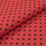 Bunte Punkte (5 mm) - ROT-SCHWARZ