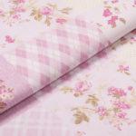 Patchwork Blumen - ROSA